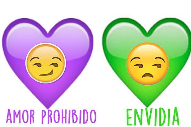 Te dará un infarto cuando sepas el significado de los emojis de corazón