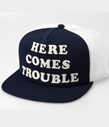 Here Comes Trouble Hat by Toddland