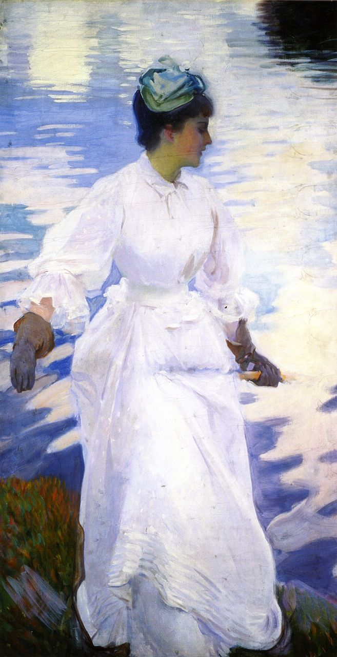 Lady Fishing - Mrs. Ormand  John Singer Sargent