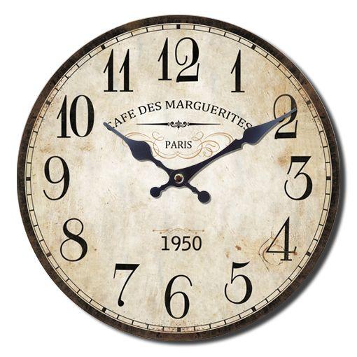 Ρολόι Τοίχου 1950, 33.8εκ http://www.lovedeco.gr/p.Roloi-Toichou-1950.771331.html