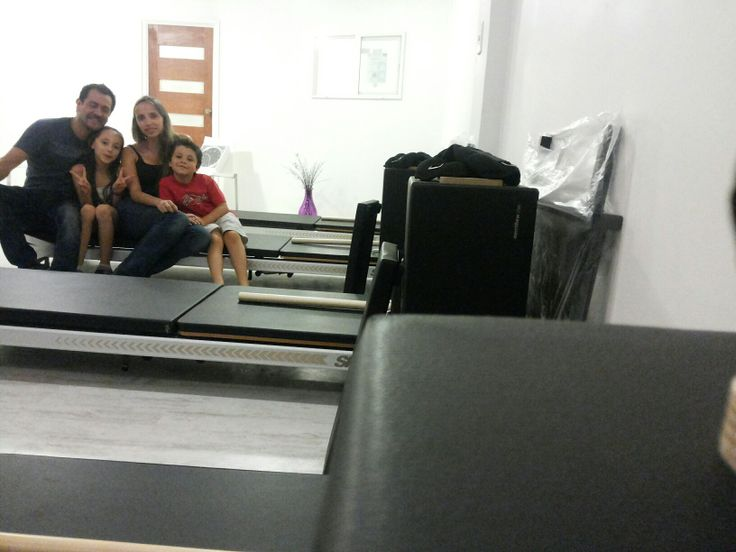 The happy team behind Studio Core PIlates in Chile