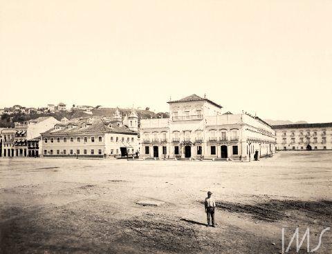 Georges Leuzinger - 1865 - Paço Imperial
