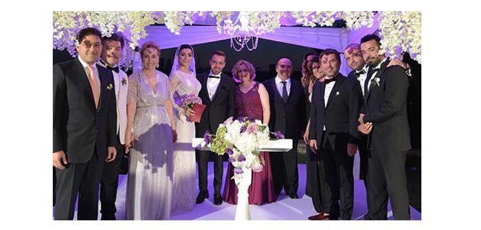 Murat Dalkılıç Merve Boluğur evlendi