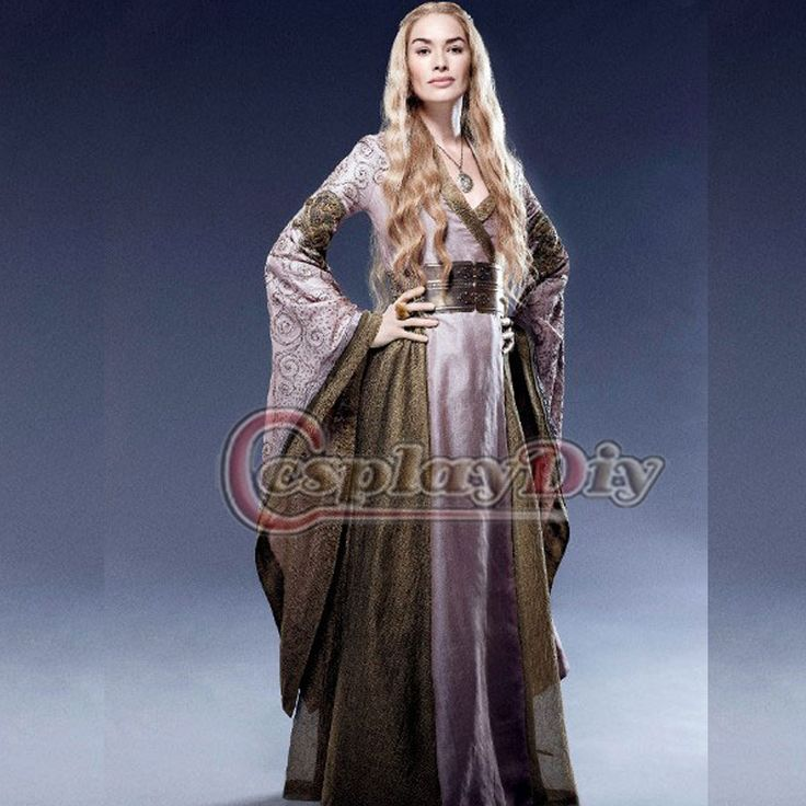 custom made game of thrones cersei lannister costume medieval renaissance robe de bal robe. Black Bedroom Furniture Sets. Home Design Ideas