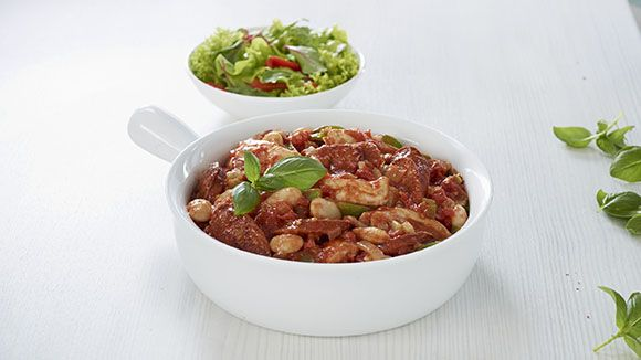 Looking for a different casserole? Try this super tasty chicken and chorizo casserole recipe.