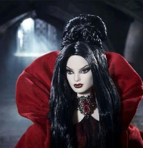 Vampire Barbie doll