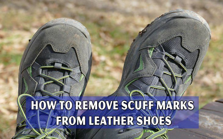 how to get scuff marks off suede shoes