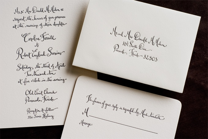 Calligraphy by Kathryn Murray