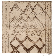 vintage moroccan tribal rug - a story woven into each one.