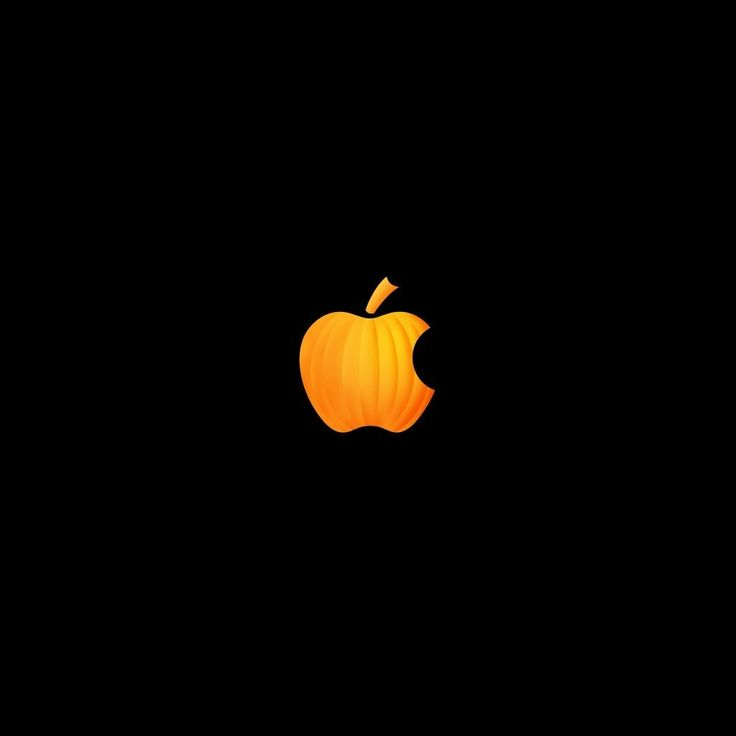 Happy halloween apple logo :)