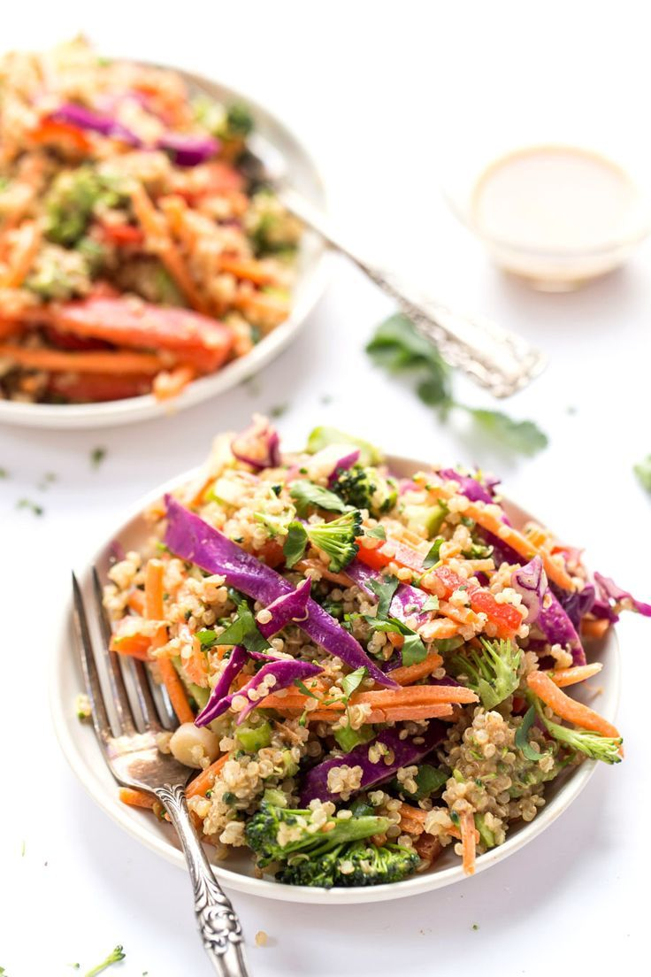 This sounds fantastic and would be easy to meal prep for a quick dinner or lunch. Did you know Quinoa is a complete protein? BOOM!