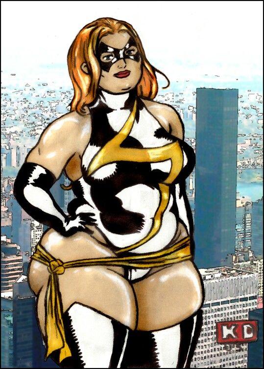 Bbw Superhero Porn - MISS Marvel