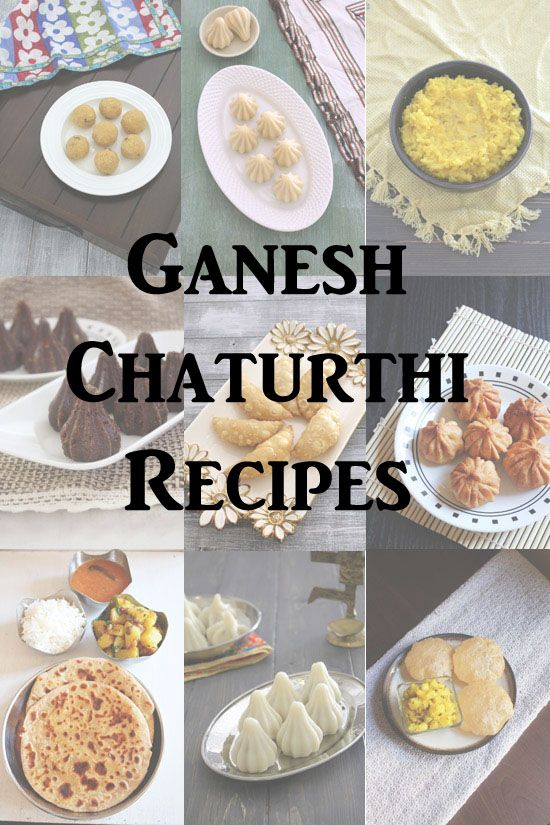 30 Ganesh chaturthi recipes. All the recipes are traditional Maharashtrian Ganesh chaturthi Recipe. All recipes have step by step photos.