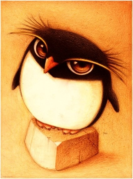 Un Pinguino by faboarts