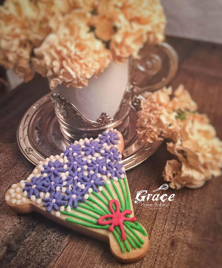 Valentine's Sugar Cookies |Bouquet |