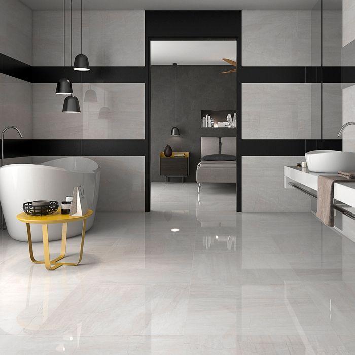 23 best Grey Floor Tiles images on Pinterest   Gray tiles ...