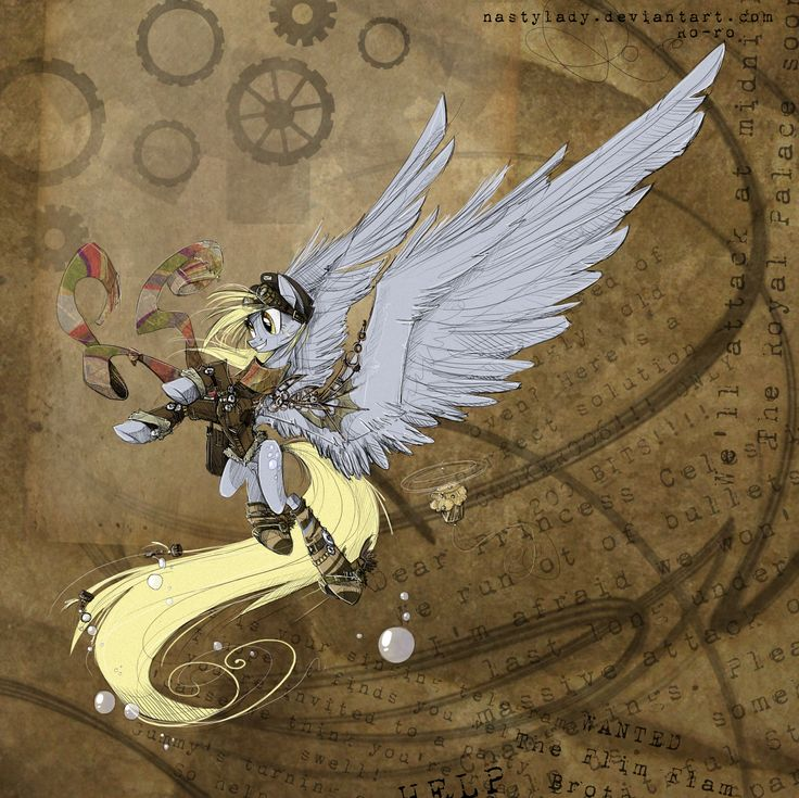 Steampunk Ponies For Everfree