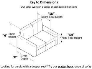 Standard Sofa Size Comfortable Pin Dimensions Image Search Results On Pinterest