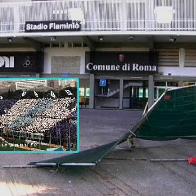Calcio. Flaminio shock! Indignazione Lazio | Foto Sport Notizie