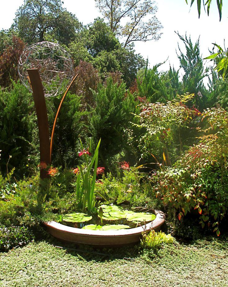 Lovely Meditation Garden Designed By Marlene Breene. Sculpture By TerraSculpture