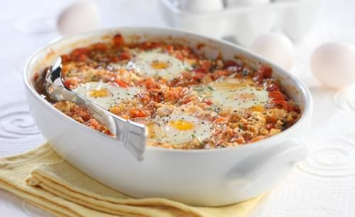 Baked Eggs Extraordinaire