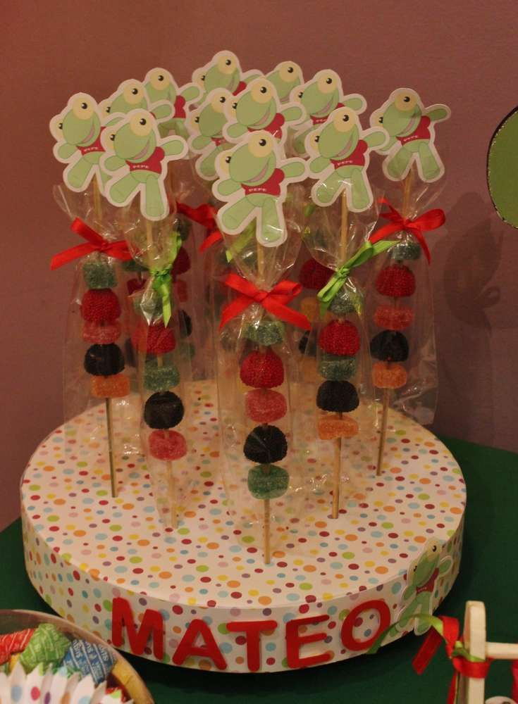 Sapo Pepe Birthday Party Ideas | Photo 1 of 9 | Catch My Party