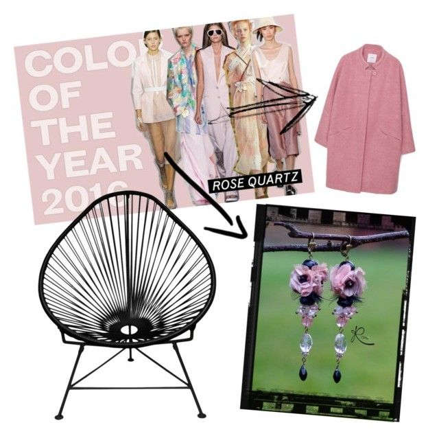 """""""My favorit colour is back!"""" by lauraroni on Polyvore featuring Innit, MANGO, women's clothing, women, female, woman, misses and juniors"""