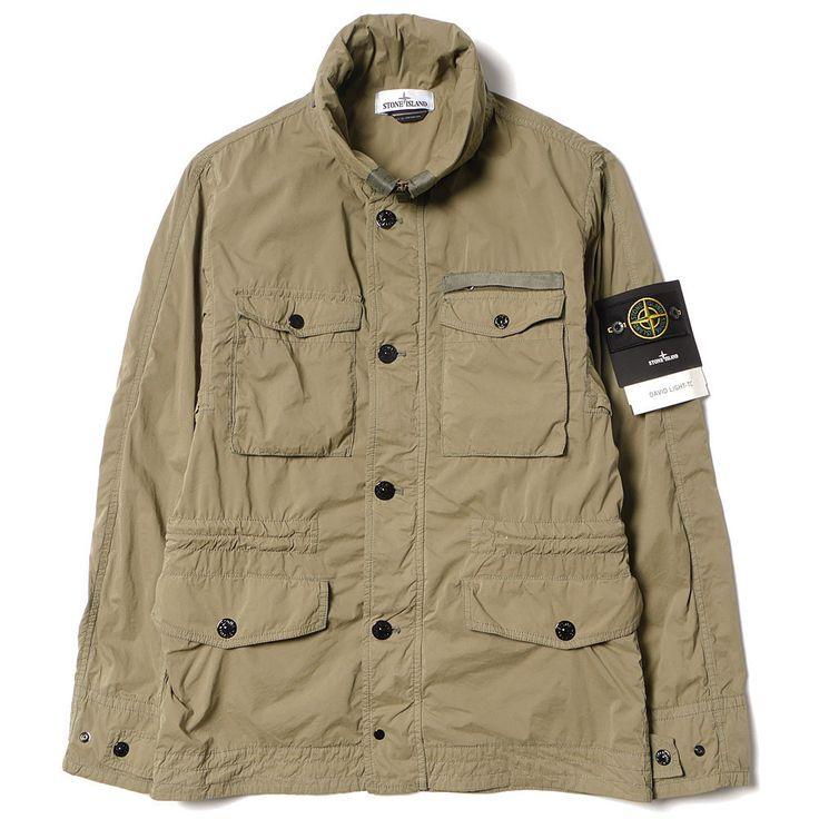 Stone Island, David Light-TC Field Jacket (Green)