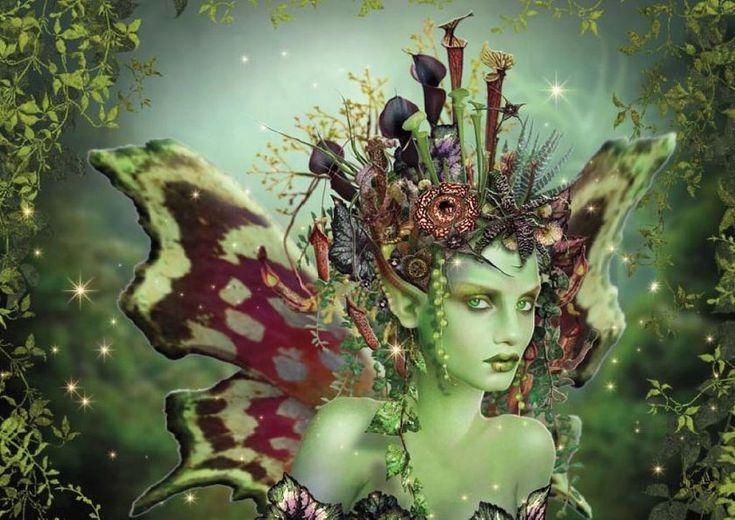 Maxine Gadd - The Green Faerie | Enchante` | Pinterest ...
