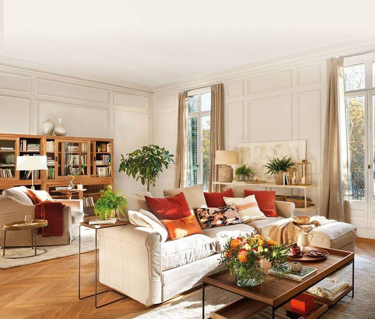 Nos planteamos un reto transformar este sal n en tres - Transformar muebles antiguos en modernos ...
