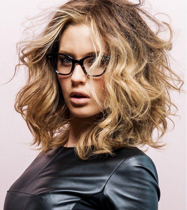 Long Blonde Messy Hairstyles