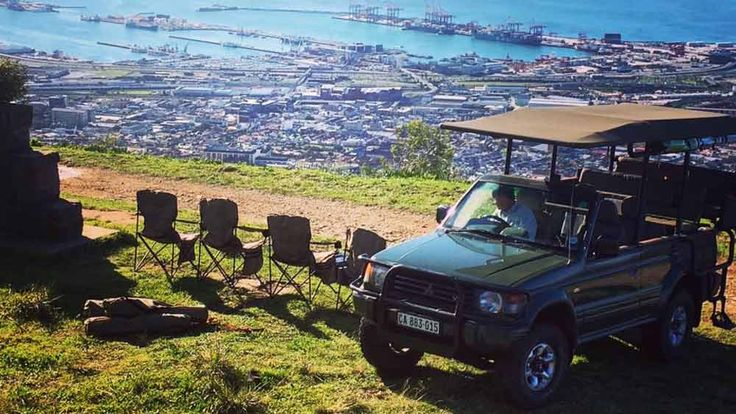 The only 4x4 up Table Mountain, with a wine tasting!