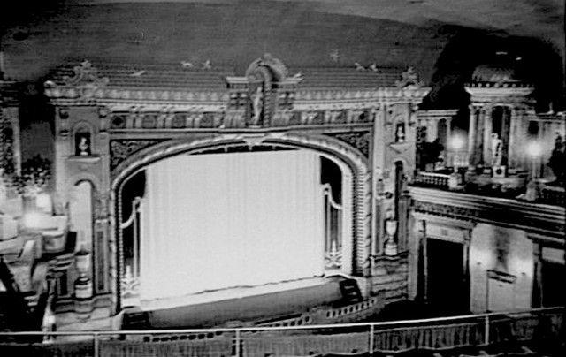 Stage of the Odeon Theatre, Goulburn