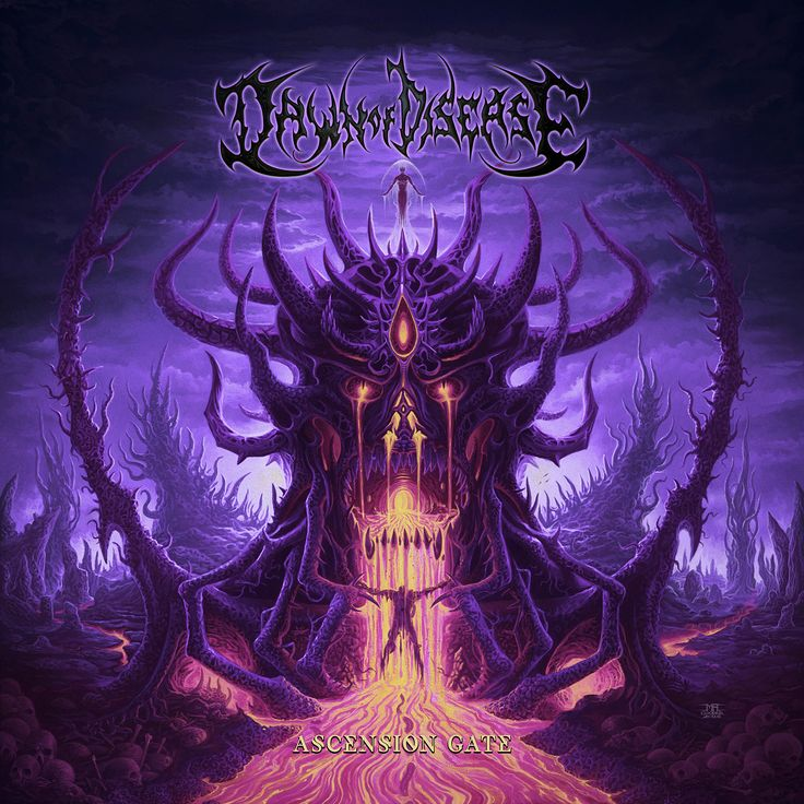 Dawn of Disease - Ascension Gate - 2017. Album and review
