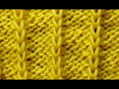 Cómo Tejer Punto Fácil -How to Knit Easy Stitches 2 Agujas (321)