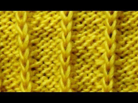 Cómo Tejer Punto Fácil -How to Knit Easy Stitches 2 Agujas (321)