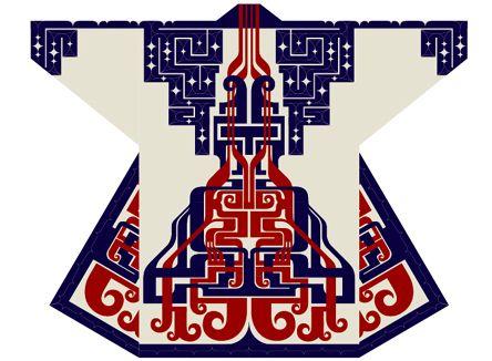 Re-design of Ainu pettern
