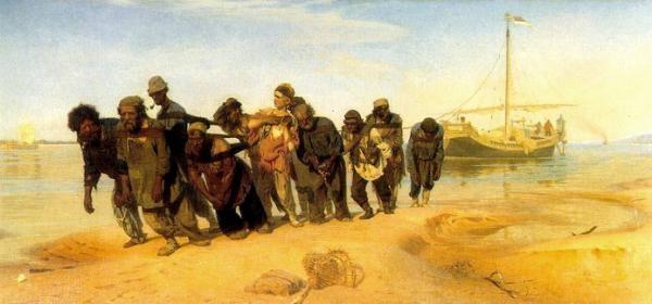 Ilja E. Repin - Burlaci na Volze