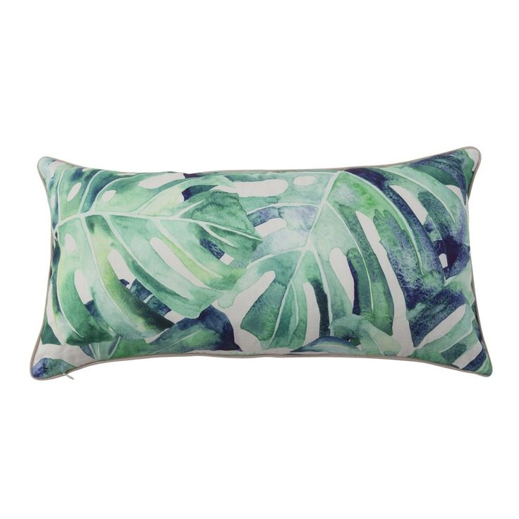 Our Akamu cushions are an absolute must-have! Featuring an exclusive watercolour Monstera print, Akamu is chic, on-trend and perfect for styling with natural timber accessories and tropical cushions from our range.