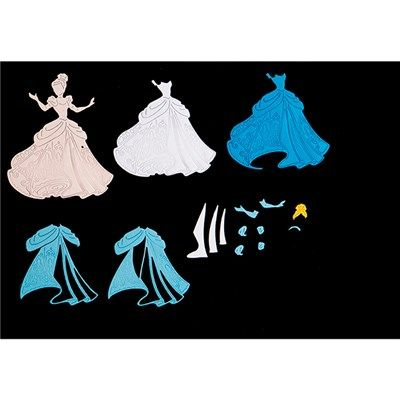 Disney Princess Captivating Cinderella Die and Face Stamp (384512) | Create and Craft