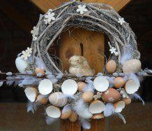 Jarní velikonoční věnec