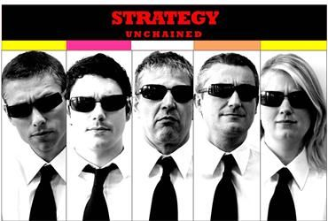 "They're that other BNP Fortis Paribas team: ""Strategy Unchained"". Too cool to be true..."