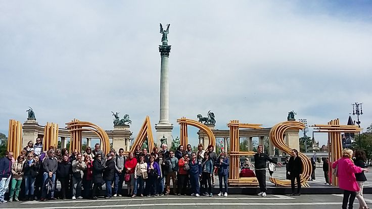 Fotografía: Guía Ana Gloria - Grupo Abril 2016- Budapest