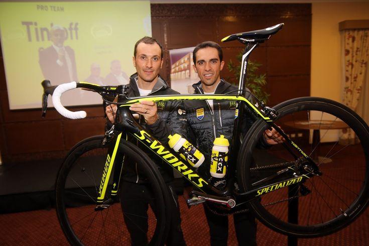 High-viz paintjob and Shimano components for Alberto Contador's 2015 bike