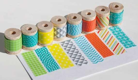 Coral Edition Washi Tape for Project Life by StickerStop on Etsy, $8.50