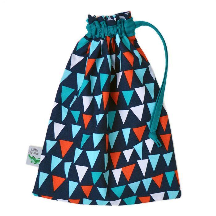 Kids Toy Bag. Lined Drawstring Bag For Toys. Shop: Little Alligator on Madeit