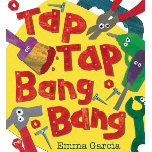 great construction tool book for toddlers/preschoolers with cute illustrations