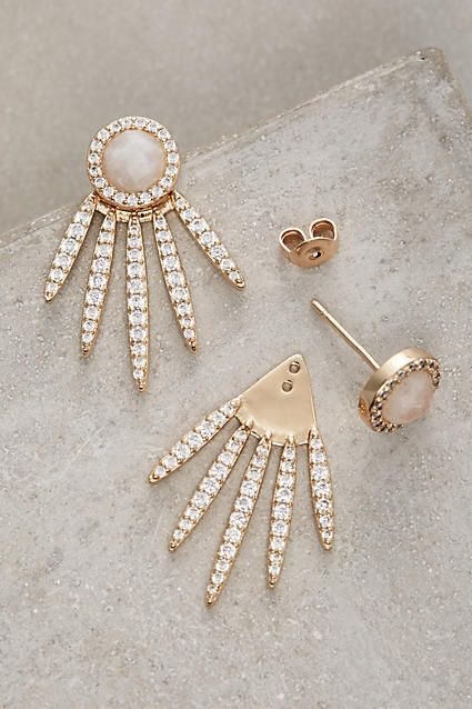 Fanned Sol Earrings - anthropologie.com