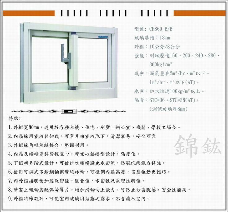 錦鋐 CH860產品規格