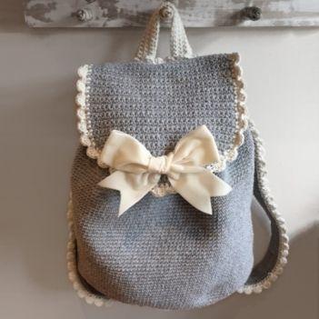 Club backpack crochet pattern